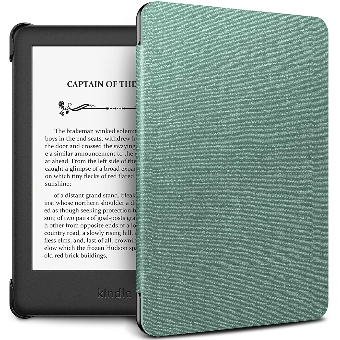 Infiland Kindle 10th Gen 2019 Case, Slim Shell Case Cover Auto Wake/Sleep Compatible with All-New Kindle 10th Generation 2019 Release Only, Not Fit Kindle Paperwhite or Kindle 8th Gen, Mint Green