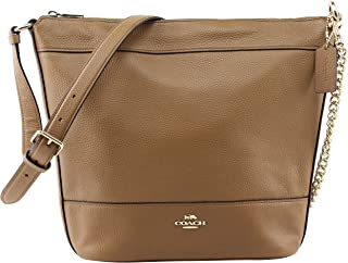 Coach Women's Solid Paxton Duffle Shoulder Handbag in Light Saddle, Style F72692