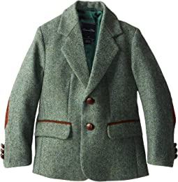 Oscar de la Renta Childrenswear - Tweed Blazer (Toddler/Little Kids/Big Kids)