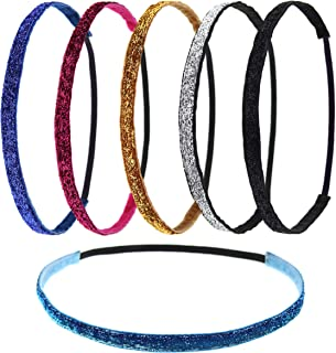 thin velvet headband