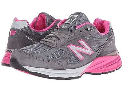 New Balance W990v4 (Grey Pink) Women