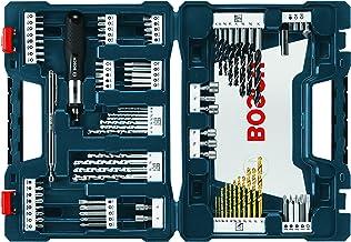 Bosch MS4091 - Juego Mixto de Brocas y Puntas de Atornillado de 91 Piezas