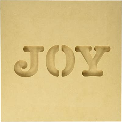 Kaisercraft SB2208 Beyond The Page MDF Joy Silhouette Wall Art Frame, 12 by 0.5 by
