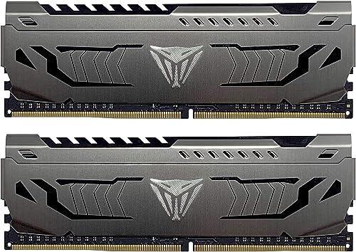 Patriot Viper Steel DDR4 64GB (2 x 32GB) 3600MHz Kit - PVS464G360C8K