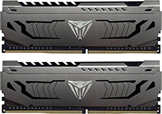 Patriot Viper Steel DDR4 16GB (2x8GB) 4400MHz PC4-35200 Dual Memory Kit - PVS416G440C9K