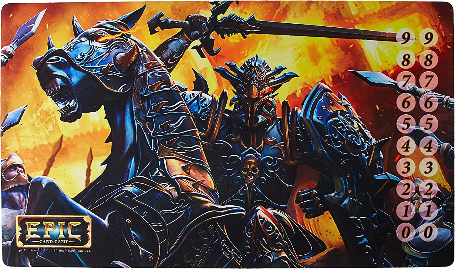Weiß Wizard Games Epic World Dark Knight Playmat Card Game B01C3CPIUO Kindlich  | Authentische Garantie
