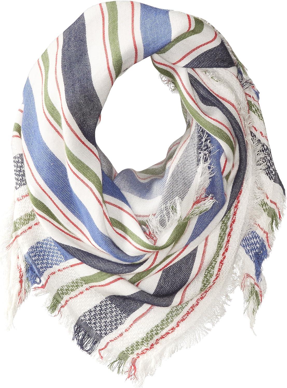 Steve Madden Women's Blanket Stripe Triangle Daywrap
