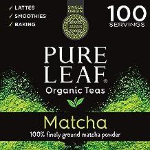 Pure Leaf 100% Organic Matcha Green Tea Powder for Green Tea Matcha Latte, Matcha baking recipes, Green Tea Smoothies Matc...