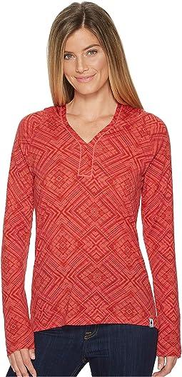Merino 150 Pattern Hoodie