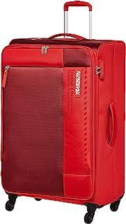 حقيبة سفر كبيرة ناعمة من American Tourister Marina ، لون أحمر، 81 سم