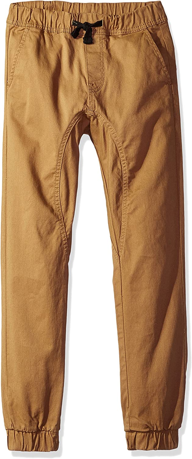 Southpole Boys' Big Jogger Pants Twill Popular Max 70% OFF brand Fabric in Basic Stretch