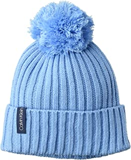 Women's Basic Rib Pom Hat