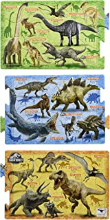 アポロシャ 子供向けパズル ジュラシック・ワールド 恐竜大図鑑 18/24/32ピース 【ステップパノラマパズル】