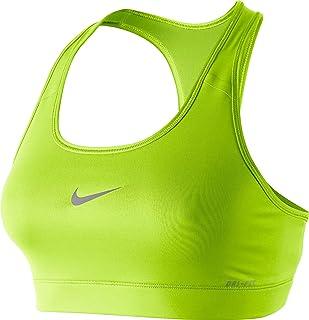 c7cdf551fd Nike Women s Victory Compression Veneer 2 Medium-Impact Sports Bra (Large