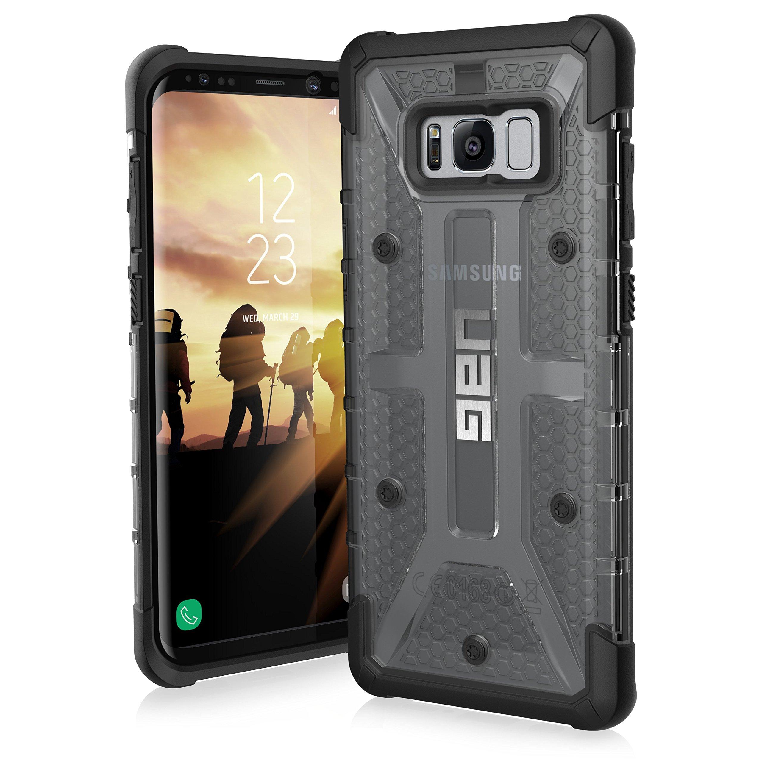 Urban Armor Gear Plasma para Samsung Galaxy S8+ / S8 Plus Funda con estándar Militar Estadounidense case [Compatible con inducción] - gris: Amazon.es: Amazon.es