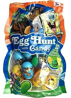 Nickelodeon Filled Easter Egg Hunt with Candy, Paw Patrol, Spongebob & Ninja Turtles 22 Eggs