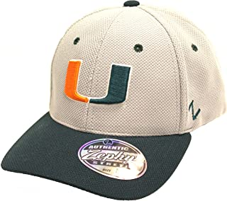 Zephyr Miami Hurricanes Top Speed M/L Flex Fit Hat