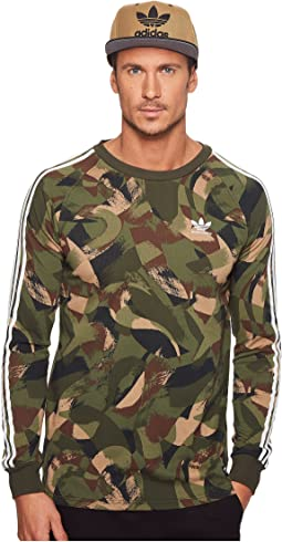 adidas Skateboarding - Long Sleeve Cali 2.0 Brushed Camo Tee