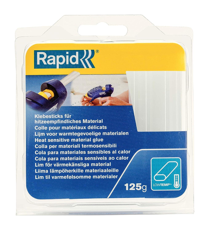 Rapid RP40107349 | Low Temp Oval Glue Sticks Transparent 125g