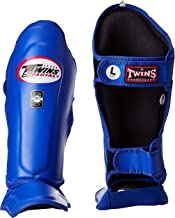 Marshal Fitness Twins Sgl-10 Shin Protection/Blue/Small