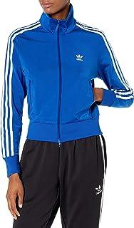 adidas Originals womens Firebird Track Jacket Team Royal Blue/White Small