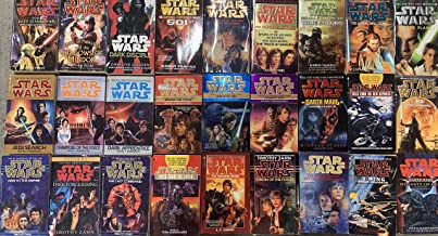 Star Wars Prequel and Sequel Novel Collection 27 Book Set