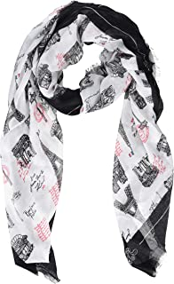 Karl Lagerfeld Paris Women's Printed Square Scarf