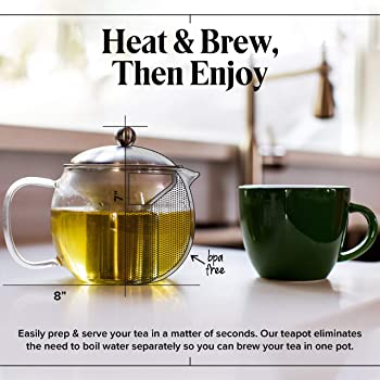 Mum You/'re Tea-riffic Novelty Loose Tea Infuser Brewer with Gift Tin