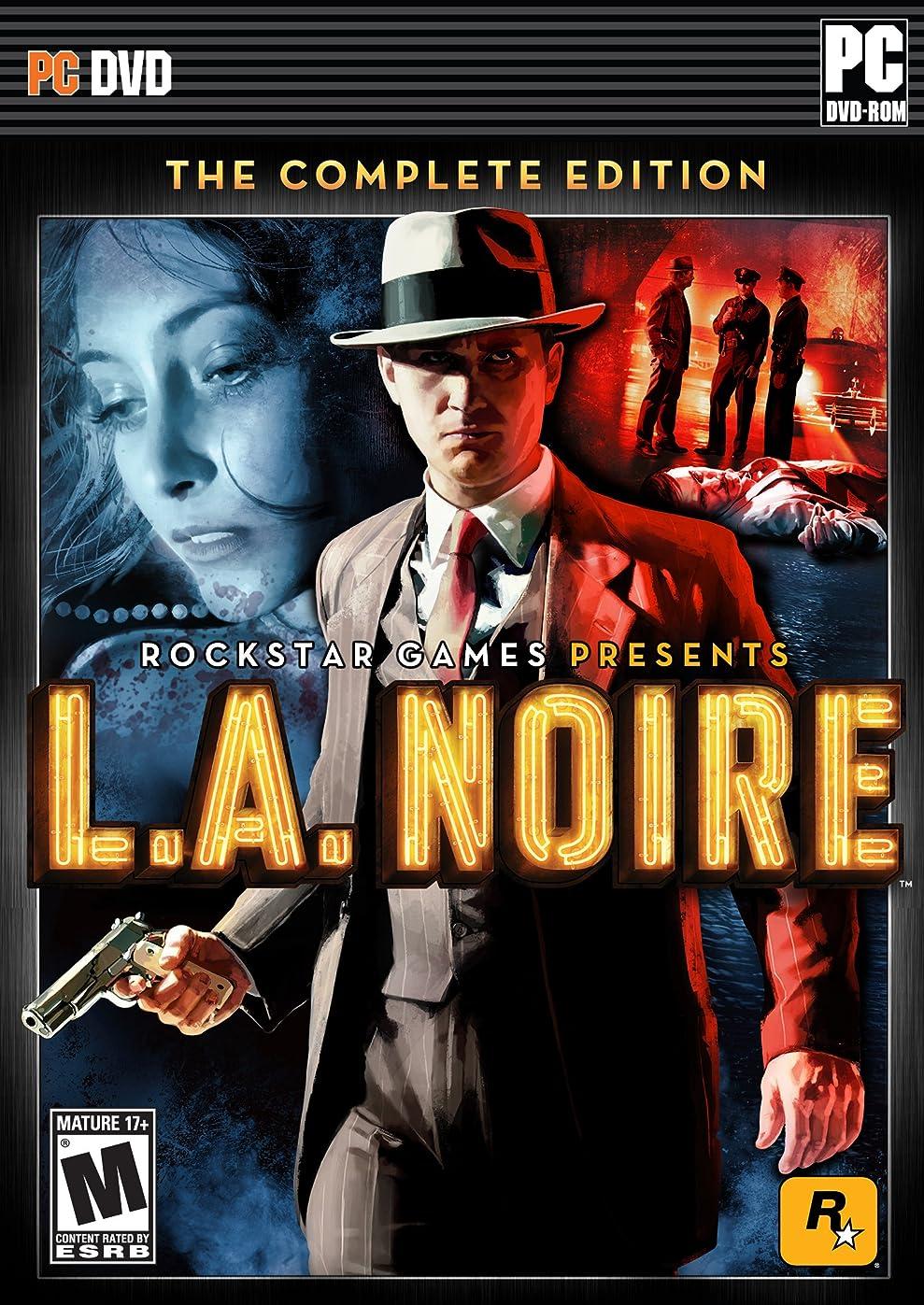 眼黒人出しますLA Noire The Complete Edition (輸入版)