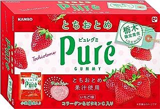 カンロ ピュレグミとちおとめ 192g・(24g×8袋)