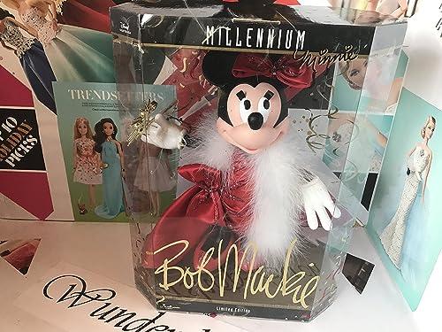 descuento online 1999 Disney Collector Collector Collector Doll - Bob Mackie Millennium Minnie Doll by Disney  soporte minorista mayorista