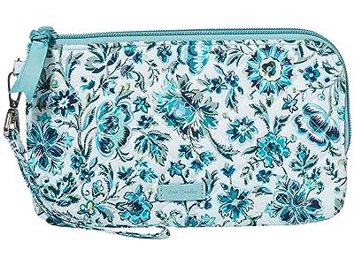 Vera Bradley Iconic RFID Wristlet (Cloud Vine) Wristlet Handbags