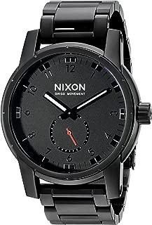 Men's A937001 Patriot Analog Display Swiss Quartz Black Watch