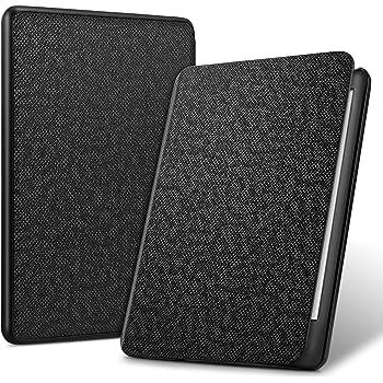 ELTD Custodia Cover per Nuovo Kindle (10th Generation 2019 Release), Smart Case Cover con Kindle E-Reader 2019, Nero
