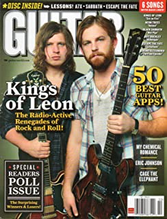 Guitar One 2011 Magazine VIDEO & AUDIO DISC ENCLOSED 50 Best Guitar Apps! BLACK SABBATH WAR PIGS Kings Of Leon Sex On Fire SPECIAL READERS POLL ISSUE