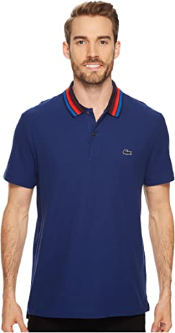 Lacoste - Holiday Short Sleeve Slubbed Pique Polo - Regular Fit