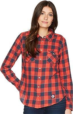 Levi's® Womens - Red Sox Buffalo Western Shirt