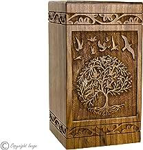 Best handmade wood cremation urns Reviews