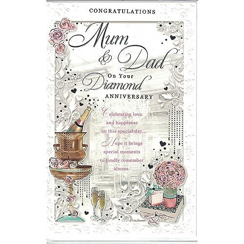 60Th Anniversary Gifts >> 60th Wedding Anniversary Presents Amazon Co Uk