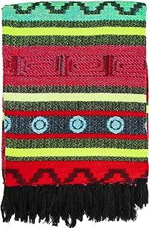 El Paso Designs Peruvian Style Colorful Pattern Blanket Frazada Manta (4)