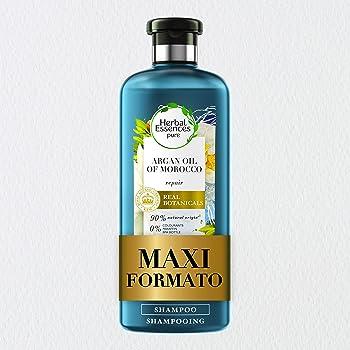 Herbal Essences Shampoo, Olio di Argan, Ripara dai Danni, in Collaborazione con Giardini Botanici Reali di Kew, 400 ml