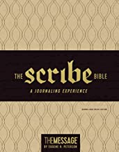The Message Scribe Bible (Leather-Look, Brown Linen Weave): Featuring The Message by Eugene H. Peterson