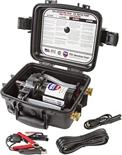 Glacier XE 12 Volt DC 3GPM Portable Water Pump Featuring USA's 5300 Progear Professional Grade Pump | Made in The USA | Whisper Quiet Operation | Approved for Potable Water Use
