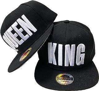 JameStyle26 King & Queen - Gorra de béisbol, diseño de