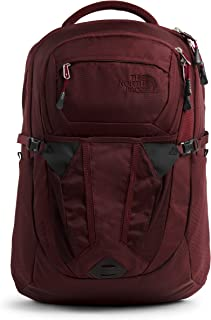 The North Face Women's Recon Backpack, Deep Garnet Red/Cardinal Red