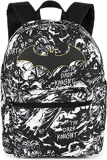Batman Comic 16inch Backpack The Dark Knight All Over Print Bag