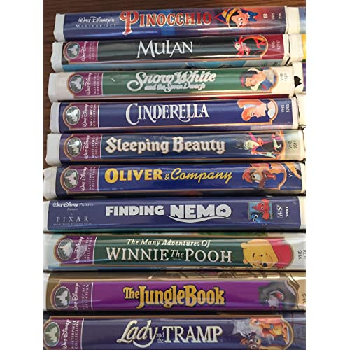 Walt Disney Vhs Tapes Amazon Com