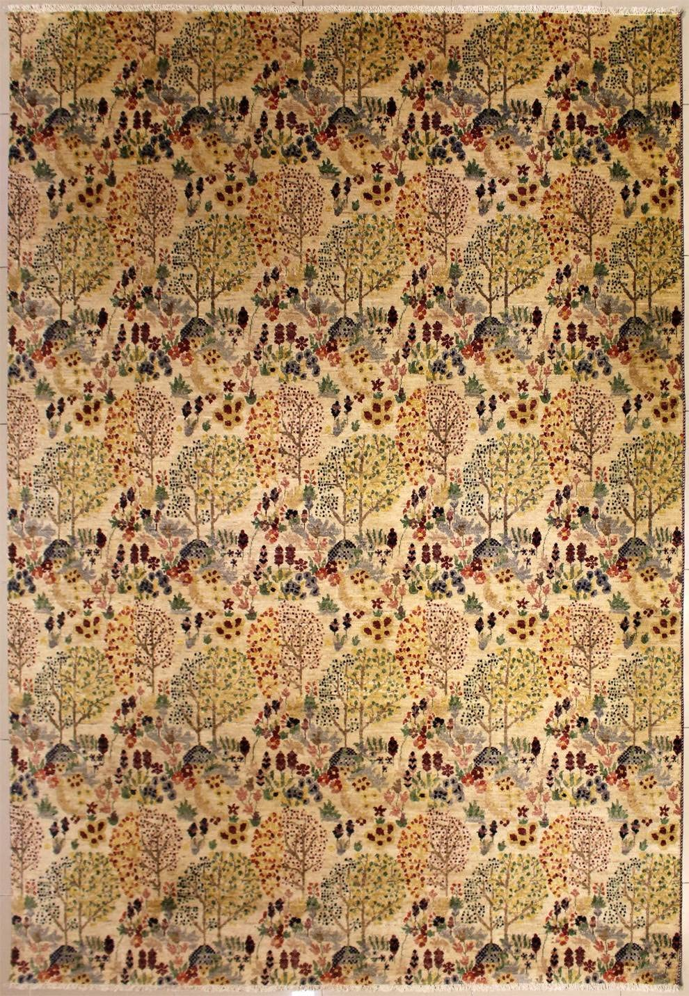 RugsTC Limited time for free shipping 8'11 x 12'3 Chobi Ziegler Free shipping Using Area Vegetable Made Rug D