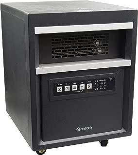 Kenmore Infrared Room Heater, Black