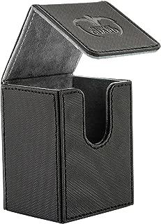 Ultimate Guard Flip Deck Case 80+ XenoSkin Standard Size Black Card Game